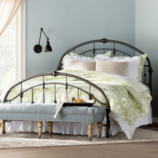 Emmalina Panel Bed by Three Posts