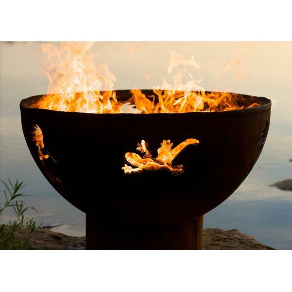 Kokopelli Fire Pit by Fire Pit Art