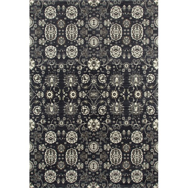 Castellano Dark Gray Area Rug by Charlton Home