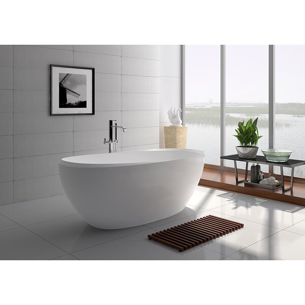 65 x 31.5 Freestanding Soaking Bathtub by Legion Furniture