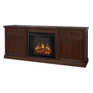 Look for Cassidy Entertainment Unit with Electric Fireplace By Real Flame