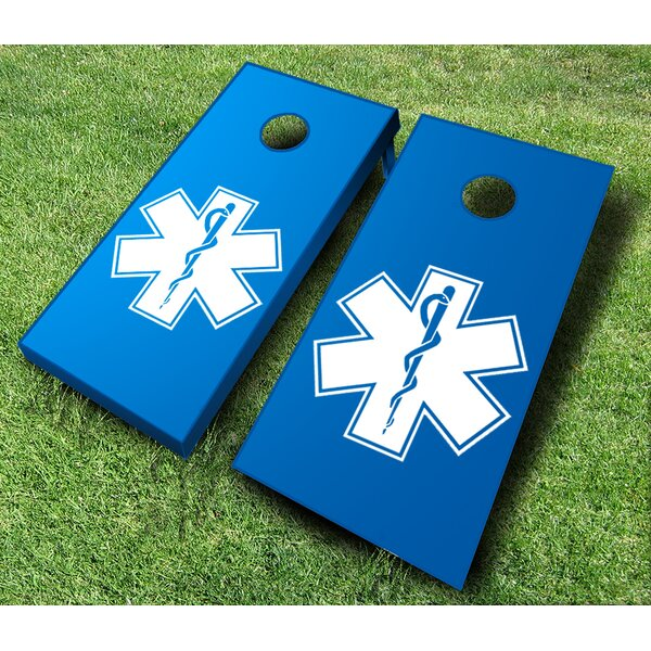 10 Piece EMS Cornhole Set by AJJ Cornhole