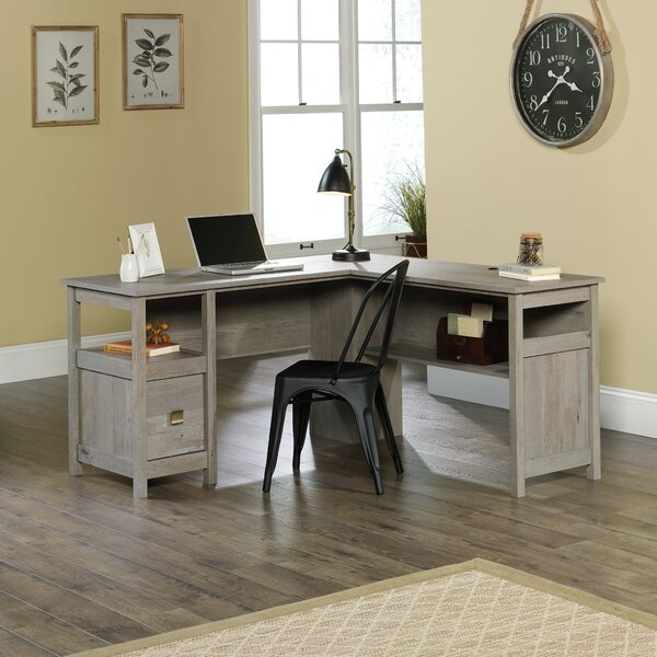 Doraville L-Shape Executive Desk by Greyleigh