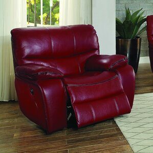 Beck Leather Recliner by Red B..