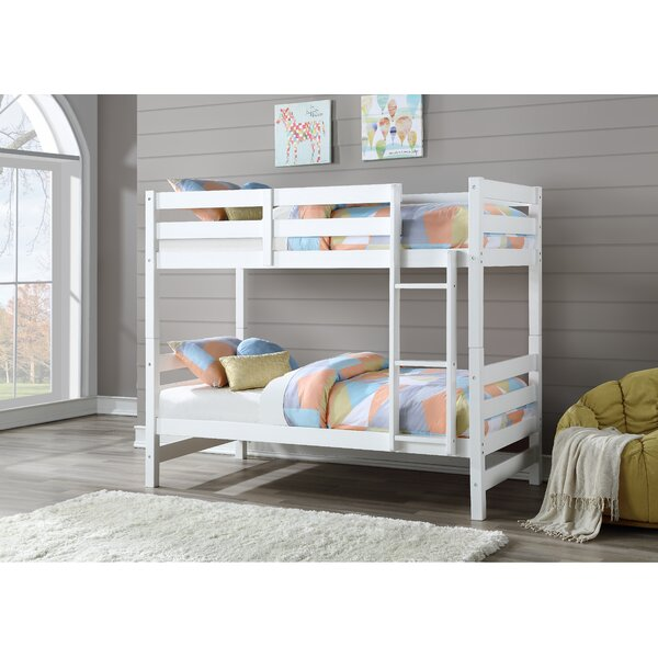 Mardis Twin over Twin Bunk Bed by Harriet Bee