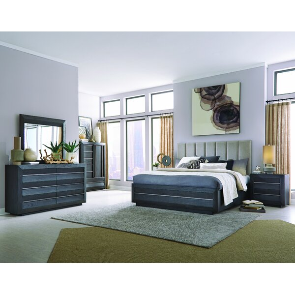 Bryant Wentwoth Village Sleigh Configurable Bedroom Set by Latitude Run