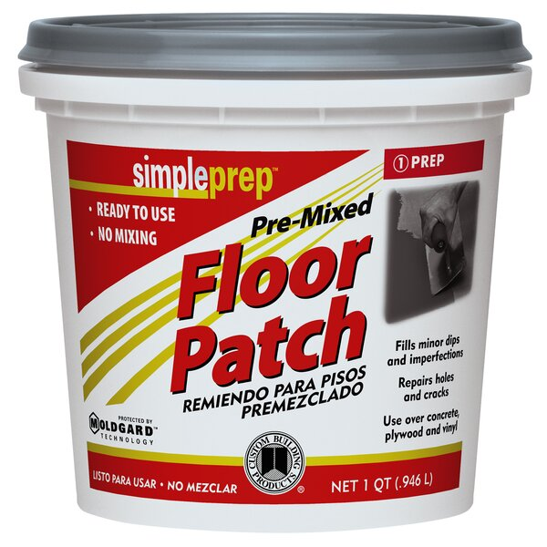 Pre Mixed Floor Patch 1 Quart (Set of 6) by Custom Building Products
