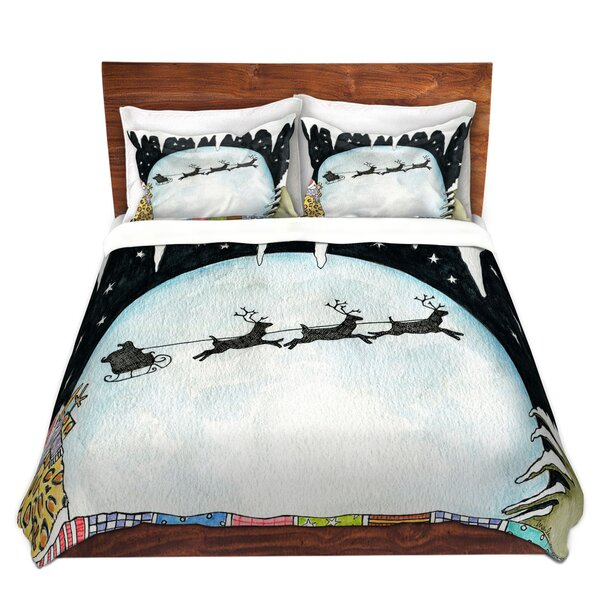 Higgenbotham Marley Ungaro Cold Moon 2 Microfiber Duvet Covers by The Holiday Aisle