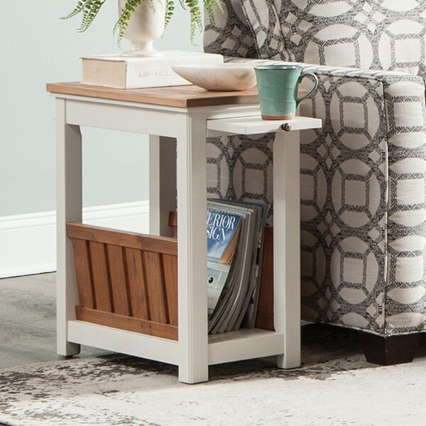 Gilmore End Table With Storage By Rosecliff Heights