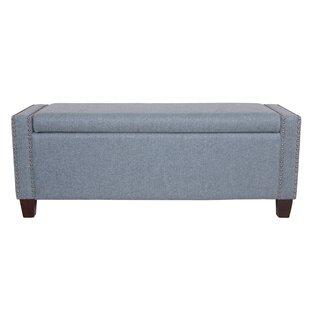Save  sc 1 st  AllModern & Modern u0026 Contemporary Upholstered Storage Ottoman | AllModern