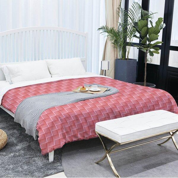 Festive Basketweave Single Comforter