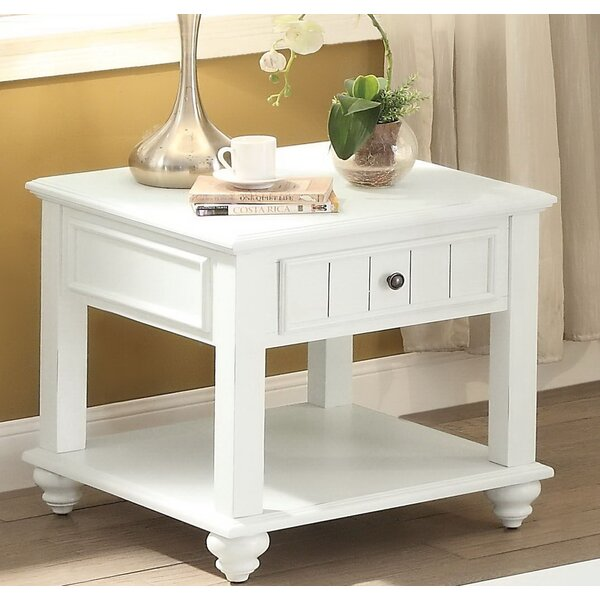 Spriggs End Table with Storage by Andrew Home Studio