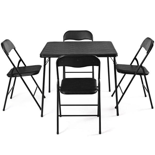 Eyal 5 Piece Dining Set by Ebern Designs