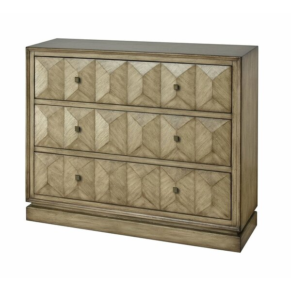 Nahlia 3 Drawer Accent Chest By Foundry Select