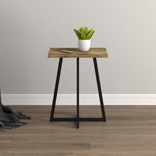 Cross Leg Base Rustic End Side Tables You Ll Love In 2021 Wayfair