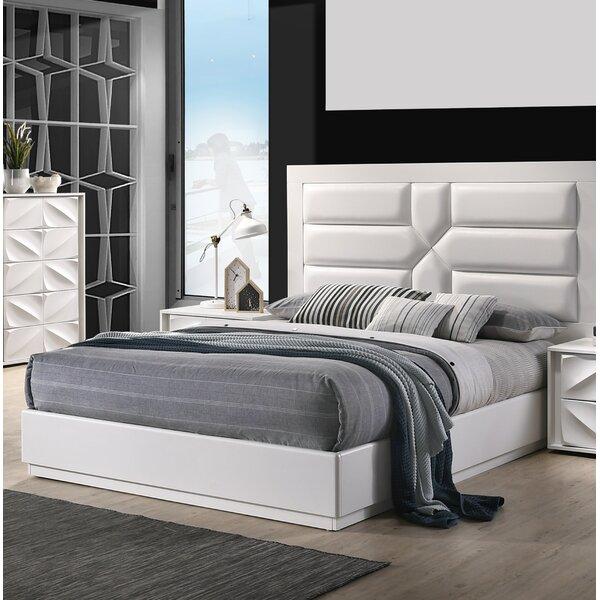 Baconton Upholstered Platform Bed by Orren Ellis