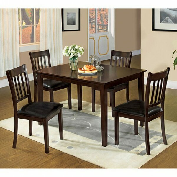 Lawhon Transitional 5 Piece Dining Set by Winston Porter