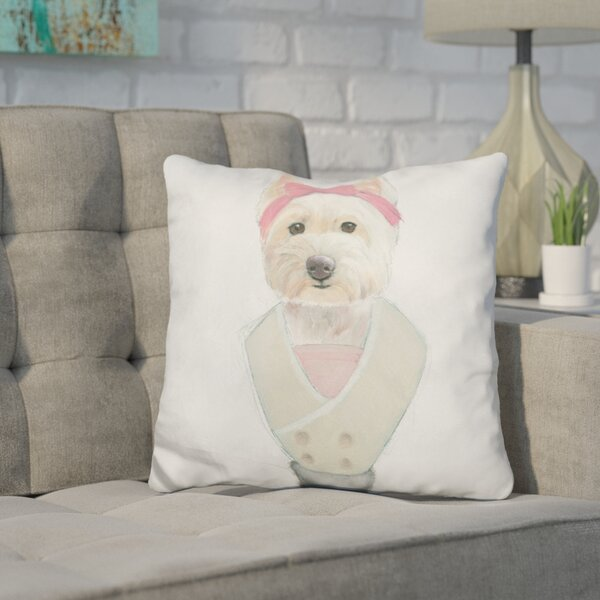 Cork Canine Couture Throw Pillow by Wrought Studio