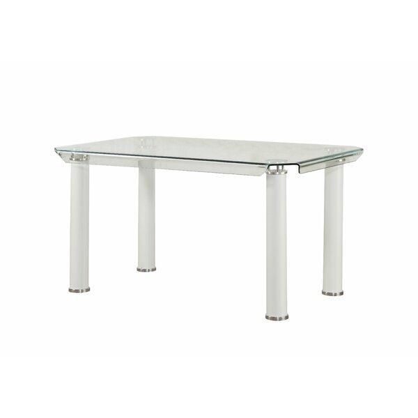Len Rectangular Dining Table by Orren Ellis