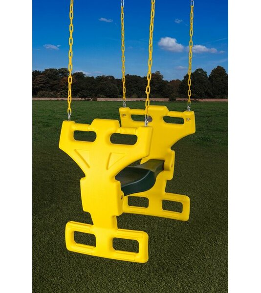 2 Child Heavy Duty Glider Swing Seat by Creative Cedar Designs