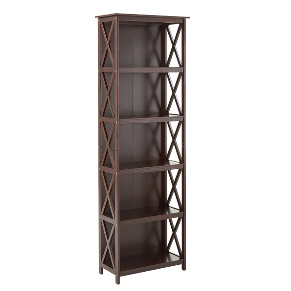 Rhymer X-Frame Standard Bookcase By August Grove
