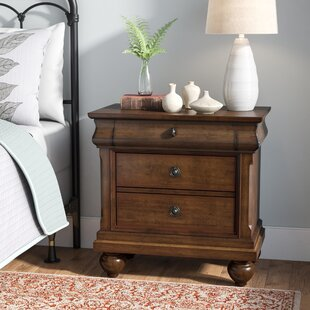 Buy luxury Oreana 3 Drawer Nightstand By Three Posts