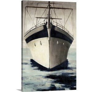 'Under Bow' by Joseph Cates Painting Print on Canvas by Canvas On Demand