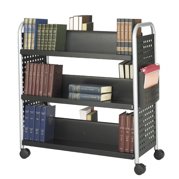 Scoot Double-Sided Book Cart by Safco Products Com