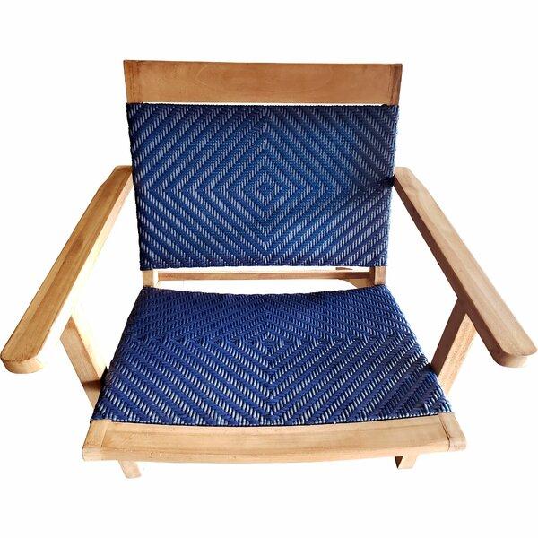 Marlie Teak Patio Chair by Ivy Bronx