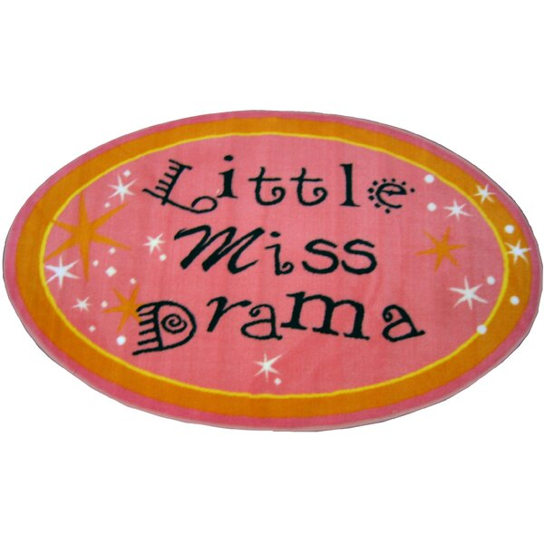 Fun Shape Little Miss Drama Area Rug by Fun Rugs