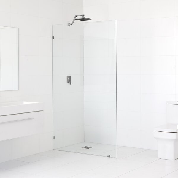 Fixed Panel Glass Shower Wall Wayfair