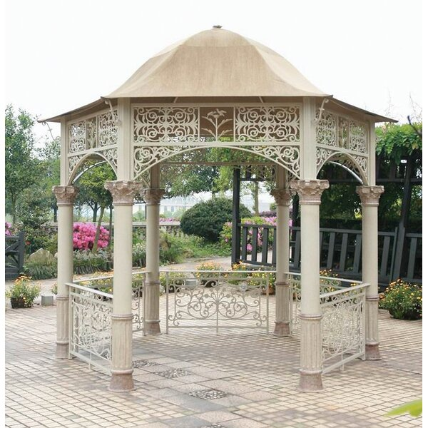 Odyssey 12 Ft. W x 12 Ft. D Aluminum Patio Gazebo by Art Frame Direct