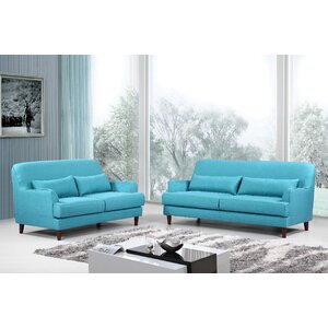 Modern 2 Piece Living Room Set by Container