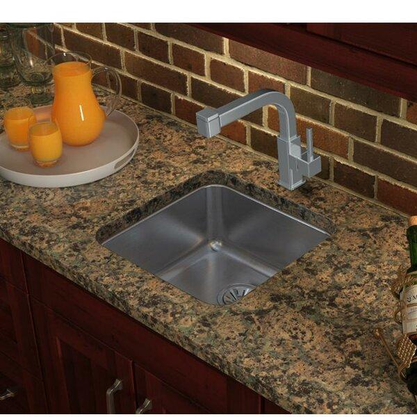 Lustertone 19 L x 19 W Undermount Kitchen Sink