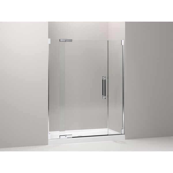 Pinstripe 59.75 x 72.25 Pivot Shower Door by Kohler