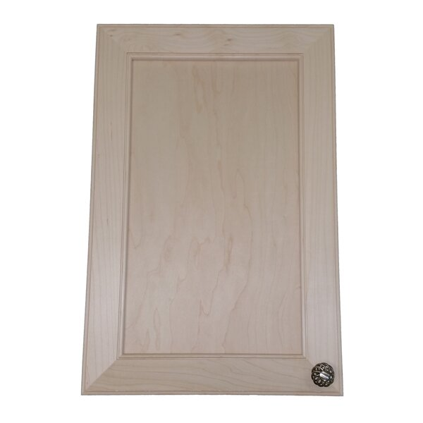 Village 15.5 W x 23.5 H Recessed Cabinet by WG Wood Products