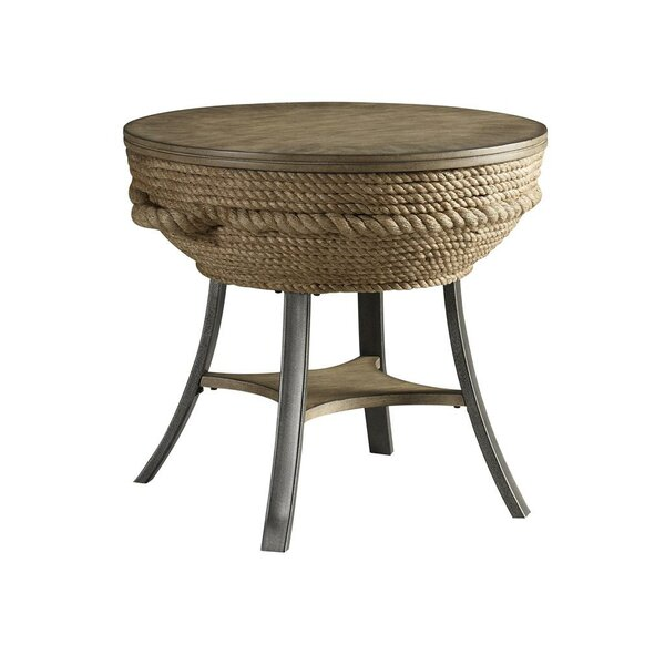 Dahlia End Table by Bay Isle Home