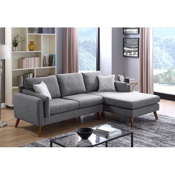 Jordana Right Hand Facing Sectional by Modern Rustic Interiors