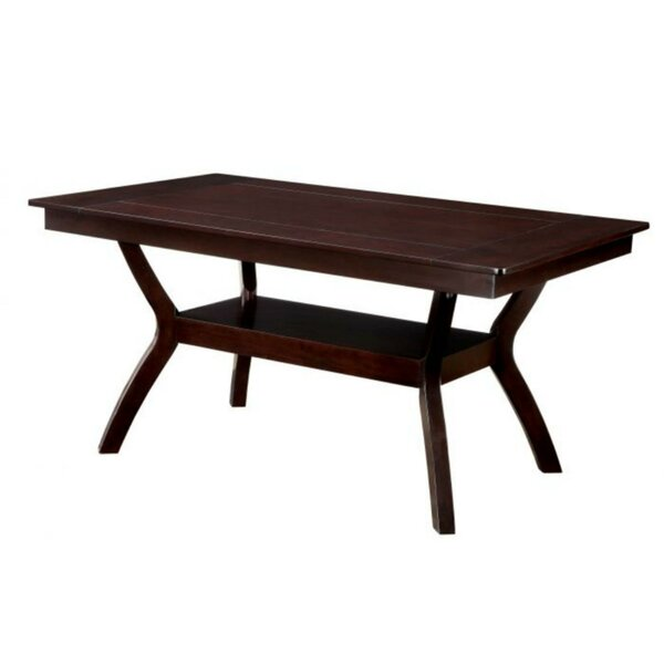 Angelica Solid Wood Dining Table by Charlton Home