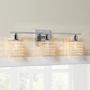 Reviews Mckissick 3-Light Vanity Light ByHouse of Hampton