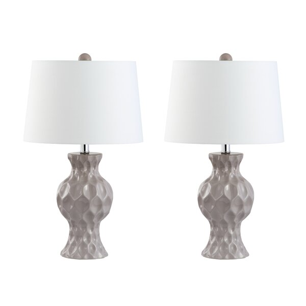 Trevor 23 Table Lamp (Set of 2) by Ivy Bronx
