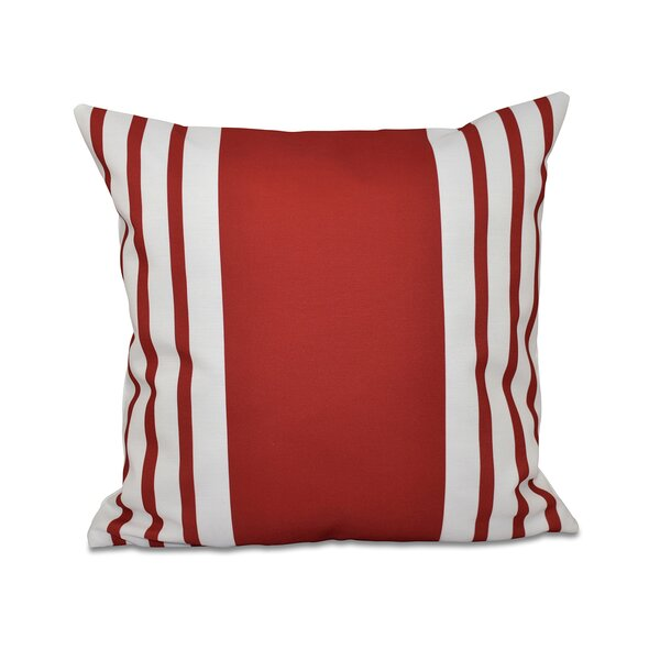 Big and Bold Stripe Decorative Throw Pillow by e by design