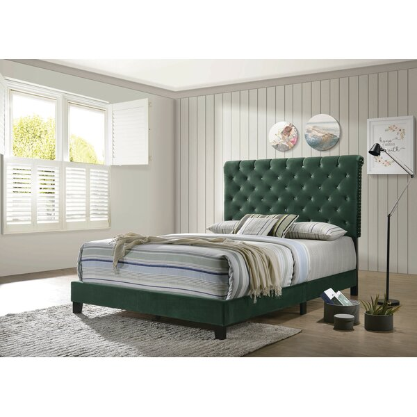 Astoria Upholstered Bed by Rosdorf Park