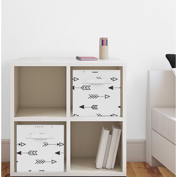 Fox Fabric Storage Cube by Sweet Jojo Designs