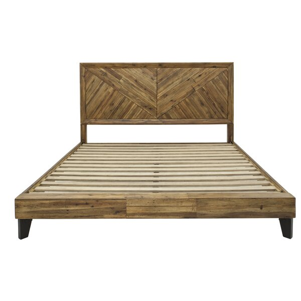 Serita California King Platform Bed by Union Rustic