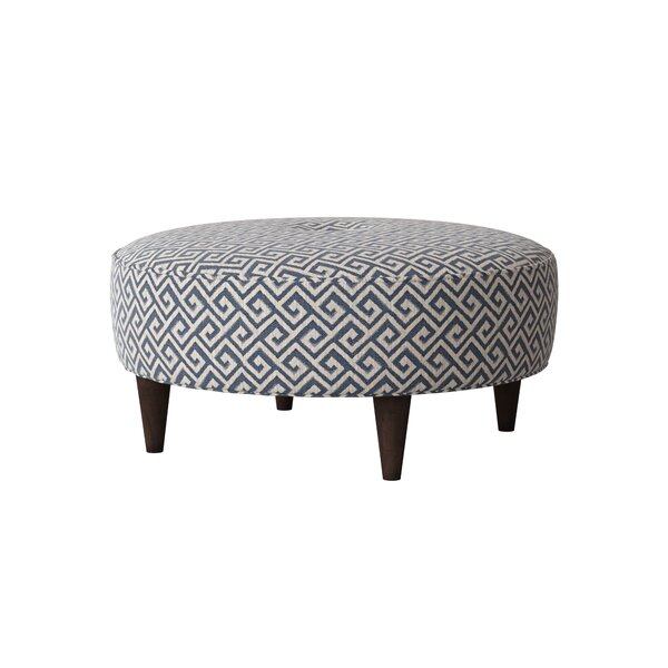 Arseni Circular Tufted Cocktail Ottoman