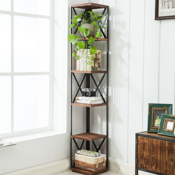 Gurley Corner Unit Bookcase by Williston Forge