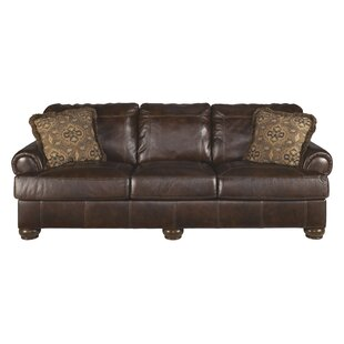 Beau Bannister Leather Sofa