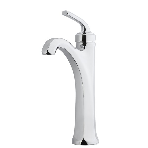 Arterra Single Control Vessel Sink Bathroom Faucet with Drain Assembly