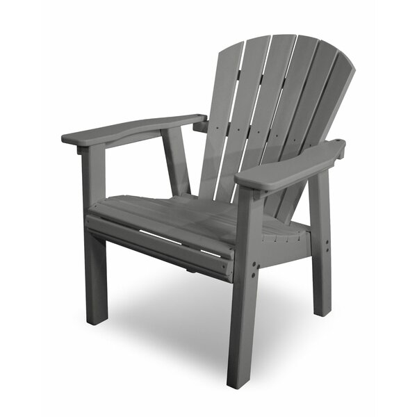 Seashell Casual Plastic Adirondack Chair by POLYWOOD®